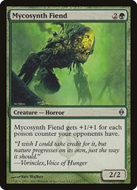 Mycosynth Fiend, Magic, New Phyrexia