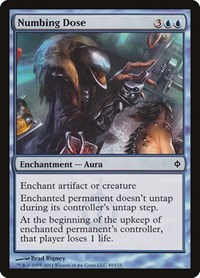 Numbing Dose, Magic: The Gathering, New Phyrexia