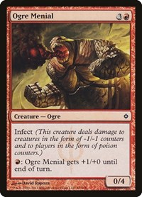 Ogre Menial, Magic, New Phyrexia