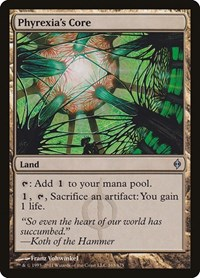Phyrexia's Core, Magic: The Gathering, New Phyrexia