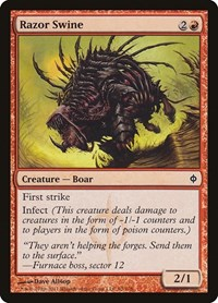 Razor Swine, Magic: The Gathering, New Phyrexia