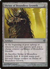 Shrine of Boundless Growth, Magic, New Phyrexia