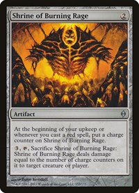 Shrine of Burning Rage, Magic, New Phyrexia