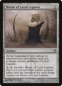 Shrine of Loyal Legions, Magic: The Gathering, New Phyrexia