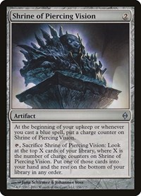 Shrine of Piercing Vision, Magic: The Gathering, New Phyrexia