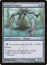 Spined Thopter, Magic: The Gathering, New Phyrexia
