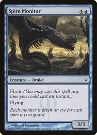 Spire Monitor, Magic: The Gathering, New Phyrexia
