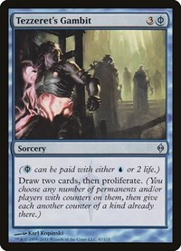Tezzeret's Gambit, Magic: The Gathering, New Phyrexia