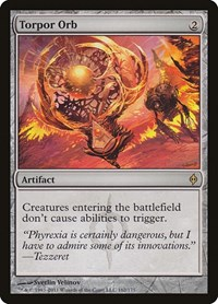 Torpor Orb, Magic: The Gathering, New Phyrexia