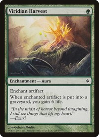 Viridian Harvest, Magic: The Gathering, New Phyrexia