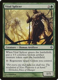 Vital Splicer, Magic: The Gathering, New Phyrexia