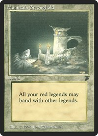 Mountain Stronghold, Magic, Legends