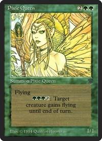 Pixie Queen, Magic, Legends