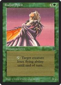 Radjan Spirit, Magic: The Gathering, Legends