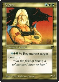 Ragnar, Magic: The Gathering, Legends