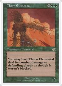 Thorn Elemental, Magic: The Gathering, Starter 1999