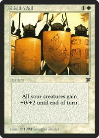 Shield Wall, Magic: The Gathering, Legends