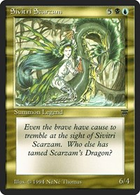 Sivitri Scarzam, Magic: The Gathering, Legends