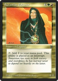 Sunastian Falconer, Magic: The Gathering, Legends