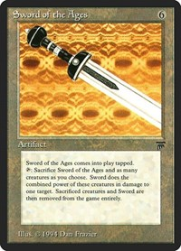 Sword of the Ages, Magic: The Gathering, Legends