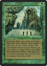 Sylvan Library, Magic: The Gathering, Legends
