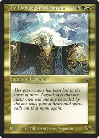 The Lady of the Mountain, Magic: The Gathering, Legends