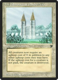 The Tabernacle at Pendrell Vale, Magic: The Gathering, Legends