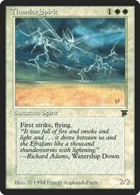 Thunder Spirit, Magic: The Gathering, Legends