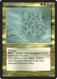 Tuknir Deathlock, Magic: The Gathering, Legends