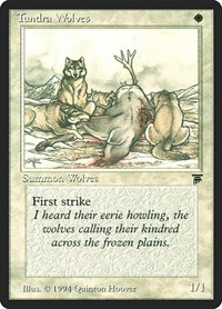 Tundra Wolves, Magic, Legends