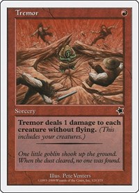 Tremor, Magic: The Gathering, Starter 1999