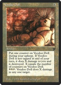 Voodoo Doll, Magic: The Gathering, Legends