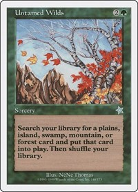 Untamed Wilds, Magic: The Gathering, Starter 1999