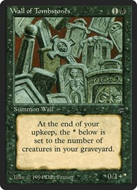 Wall of Tombstones, Magic: The Gathering, Legends