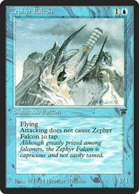 Zephyr Falcon, Magic: The Gathering, Legends