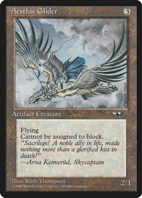 Aesthir Glider (Clouds), Magic: The Gathering, Alliances