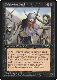 Balduvian Dead, Magic: The Gathering, Alliances