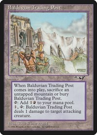 Balduvian Trading Post, Magic, Alliances