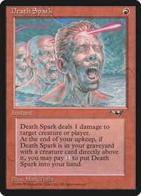 Death Spark, Magic: The Gathering, Alliances