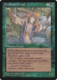 Fyndhorn Druid, Magic: The Gathering, Alliances