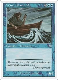 Water Elemental, Magic, Starter 1999