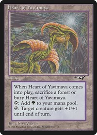 Heart of Yavimaya, Magic, Alliances