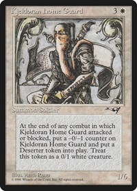 Kjeldoran Home Guard, Magic: The Gathering, Alliances