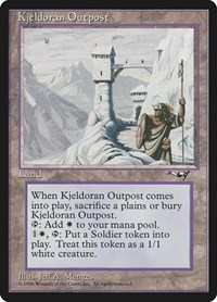 Kjeldoran Outpost, Magic, Alliances