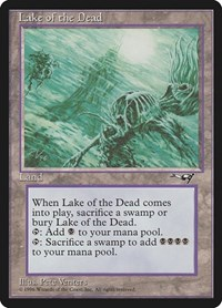 Lake of the Dead, Magic: The Gathering, Alliances