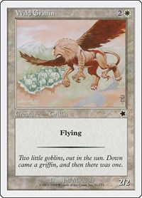 Wild Griffin, Magic: The Gathering, Starter 1999