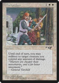 Martyrdom, Magic: The Gathering, Alliances