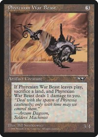 Phyrexian War Beast, Magic, Alliances