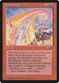 Pyrokinesis, Magic: The Gathering, Alliances
