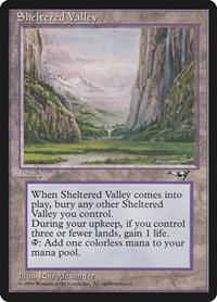 Sheltered Valley, Magic: The Gathering, Alliances